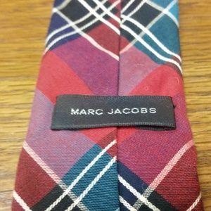 Marc Jacobs Accessories - Plaid Tartan Checker Tie Skinny Slim Multicolor